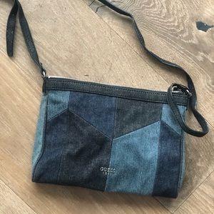 Vintage Guess Denim Crossbody Bag